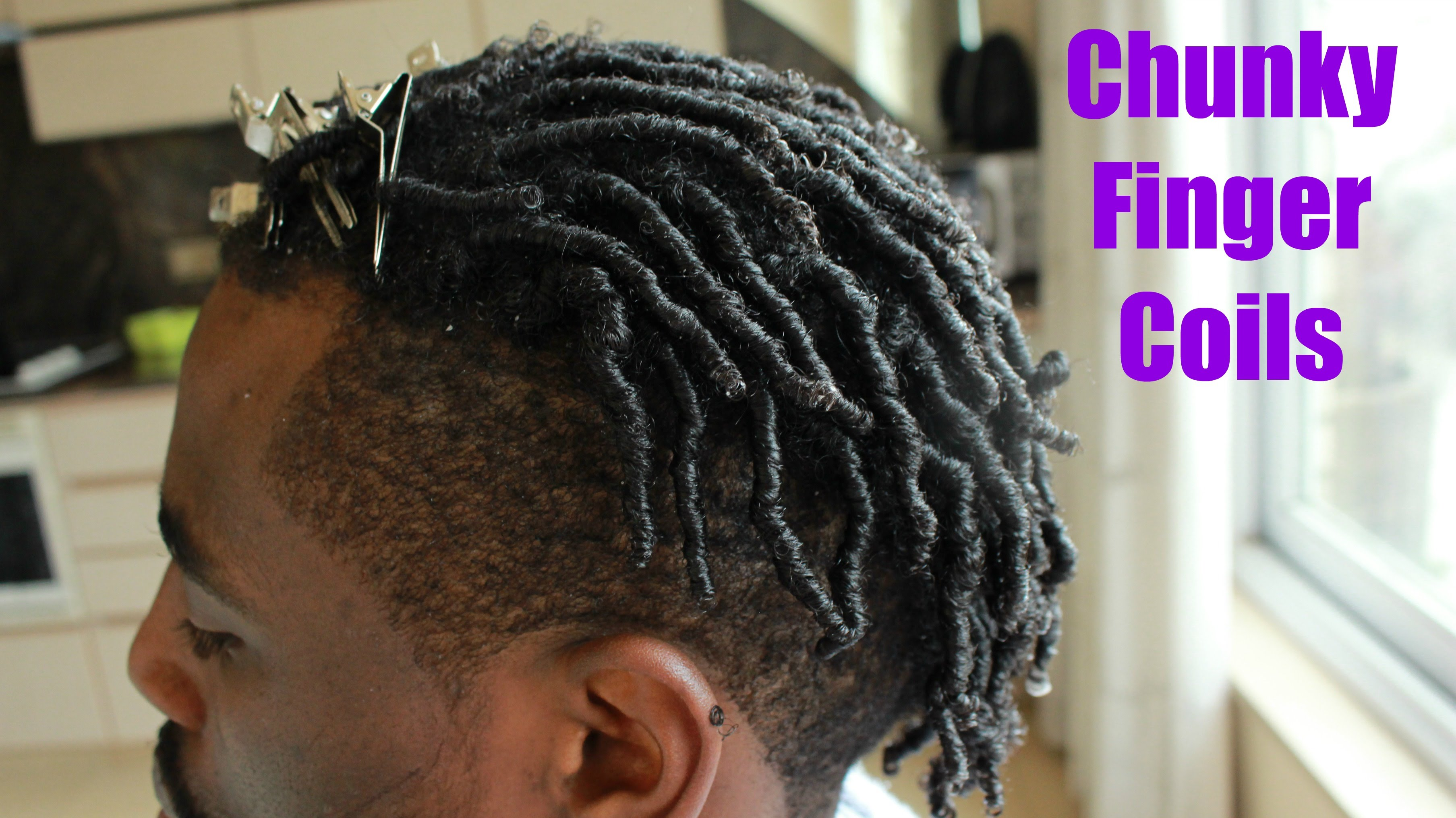 How To Do Finger Twist On Natural Hair