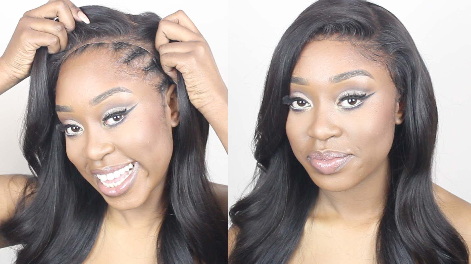 How To Make A Lace Frontal Wig Tutorial No Hair Out No Glue