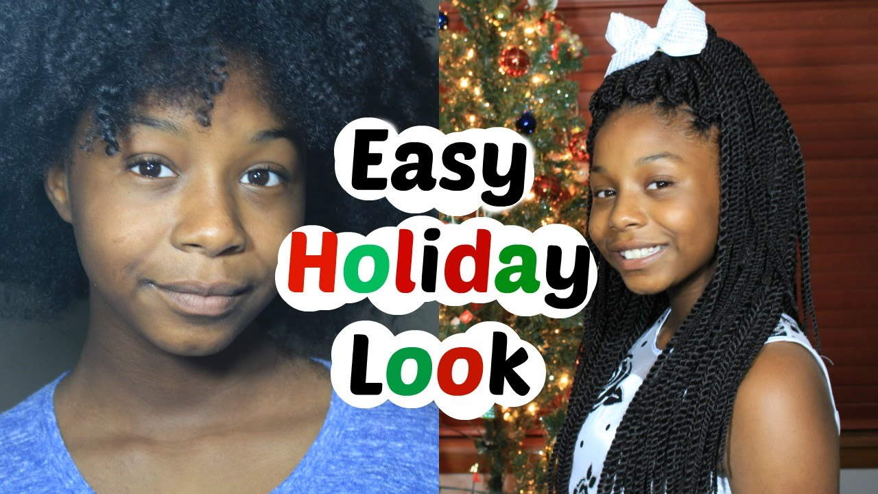 Zumba Crochet Hair : Kids Crochet Senegal Twist for Natural Hair Easy Holiday Look